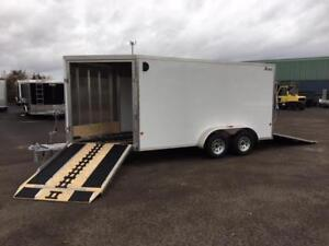 NEW 2018 XPRESS 7' x 19' ALL-SPORT ALUMINUM SNOWMOBILE TRAILER