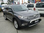 2012 Toyota Kluger GSU40R MY12 Altitude (FWD) 7 Seat Grey 5 Speed Automatic Wagon Five Dock Canada Bay Area Preview