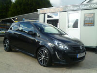 2013 VAUKHALL CORSA BLACK EDITION 1.4 TURBO ONLY 40 K ! ALL CREDIT/DEBIT CARDS ACCEPTED