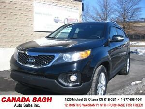 2011 Kia Sorento LX, LOADED SUV, 12M.WRTY+SAFETY $9990