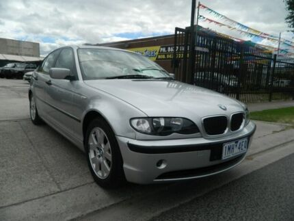 2003 BMW 318I E46 Silver 5 Speed Auto Steptronic Sedan Williamstown North Hobsons Bay Area Preview