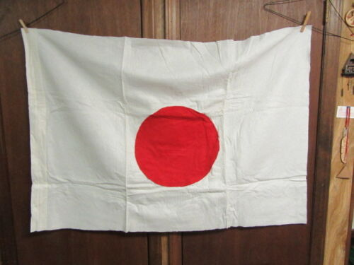 Japan Cloth Flag  approx. 54 by 36      AA