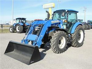2015 New Holland T4.90 PowerStar MFWD tractor w/ Loader SAVE BIG