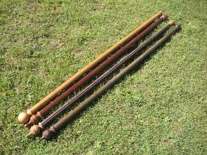 Wooden Curtin Rods $15 each Albion Brisbane North East Preview