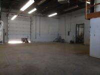 FOR LEASE:  Light Industrial, Commercial, Warehouse