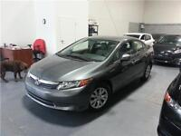 2012 HONDA CIVIC LX ***AUTOMATIQUE***81,000 KM