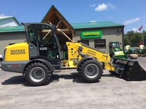 NEW 2018 WACKER NEUSON WL60T ARTICULATED TELESCOPIC WHEEL LOADER