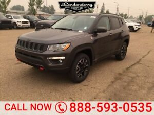 2018 Jeep Compass 4X4 TRAILHAWK            Leather Interior  Tou