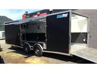 CargoPro Stealth Supreme Auto hauler with elite escape door