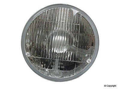 "Headlight 7"" Insert  H4 Conversion; w/ Replacement Blub HELLA 2395301 Many Apps"