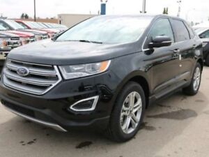 2018 Ford Edge TITANIUM, 302A, AWD, SYNC3, LTHR, HEATED STEERING