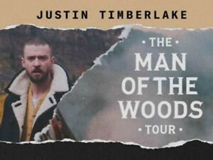 2-Tix to Sold Out Justin Timberlake Show Montreal Apr 8