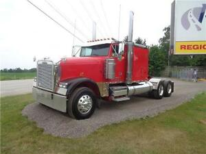 2009 FREIGHTLINER CLASSIC XL, REBUILT DETROIT WITH WARANTY