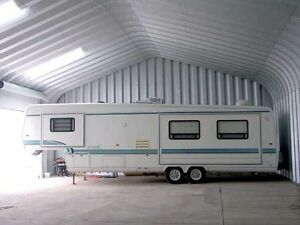 New Workshop / Garage-Thick Galv Steel - DEAL! Cost me ($38,000)