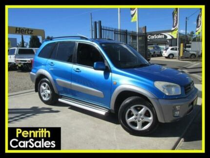 2003 Toyota RAV4 ACA23R Cruiser (4x4) Blue 4 Speed 4 SP AUTOMATIC Wagon