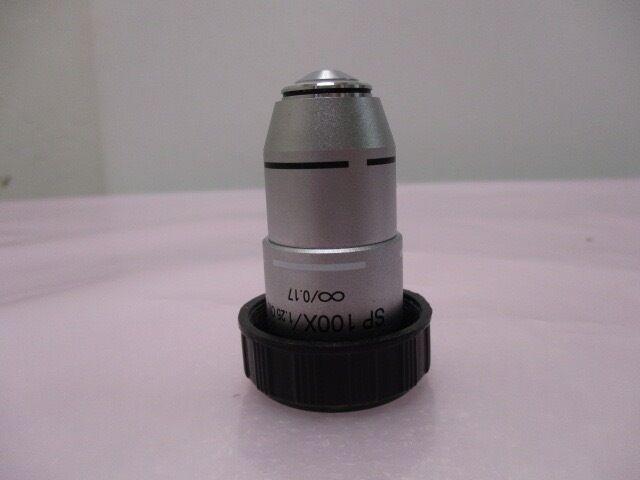 SP 100X/1.25 OIL, ?/0.17, 100X Objective Lens, Microscope 408786