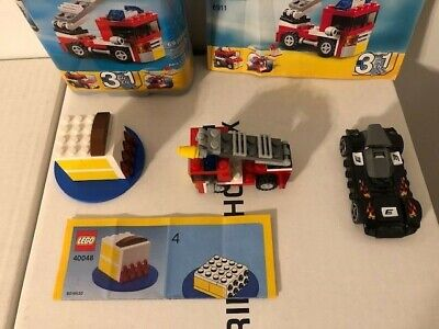Lego Creator #6911 & Lego #40048 & A Lego Race Car