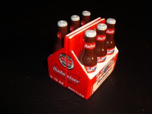 Budweiser Ceramic 6-Pack Salt & Pepper Shaker Set – FREE SHIPPING!