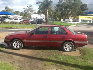 1993 Ford Falcon EBII GLi Red 4 Speed Automatic Sedan Hastings Mornington Peninsula Preview
