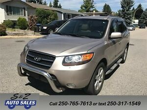 2007 Hyundai Santa Fe AWD 7 passenger-NAV-DVD-LEATHER+++