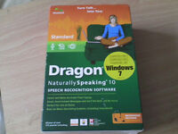 Dragon speak to type software