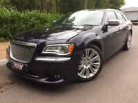 Chrysler 300C 3.0TD 236bhp Auto Executive Midnight Blue,black leather 37k f/s/h