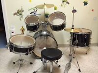 Kids - CB Percussion Junior 5-Piece Drum Kit with Cymbals