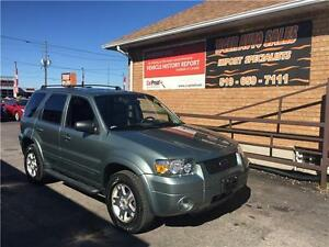 2006 Ford Escape Limited****AWD***LEATHER***SUNROOF****160 KMS