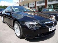 BMW 6 SERIES 4.4 645CI 2d AUTO 329 BHP (black) 2004