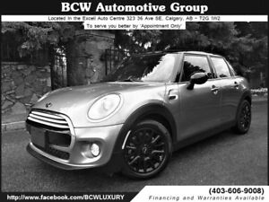 2015 MINI Cooper 5 Door Navigation Only 6000 km Like New $29,995