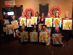 Let's Paint - Paint Night Parties in your own home! London Ontario image 8