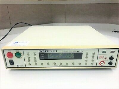 Advanced Research 5500dt Hypot Plus Ii Tester With 04040a-08 And 02100a-13