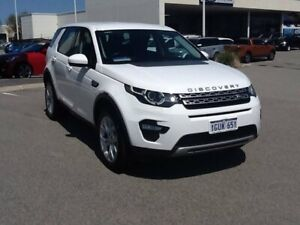 2015 Land Rover Discovery Sport L550 16MY Td4 HSE White 9 Speed Sports Automatic Wagon