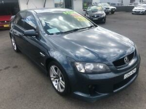 2010 Holden Commodore VE MY10 SV6 Blue Sports Automatic Sedan Lansvale Liverpool Area Preview
