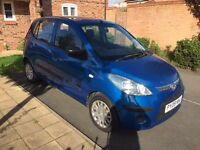 HYUNDAI i10 CLASSIC, ONLY DONE 61400 MILES, £30 YEAR TAX, CHEAP INSURANCE £1250