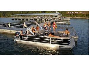 2016 G3 SunCatcher V22GT, 115Hp Yamaha, Pontoon boat