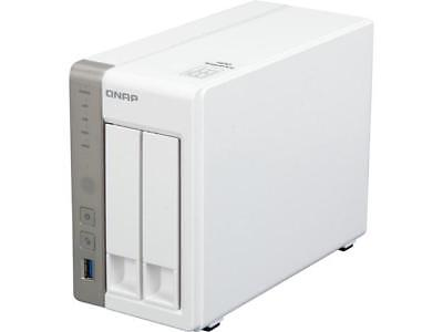 QNAP TS-251-US Diskless System 2-Bay Personal Cloud NAS with HDMI output. DLNA,