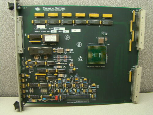 SVG Thermco 603853-05 LCA Wet/Dry Oxide Process PCB Assembly