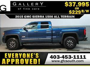 2015 GMC SIERRA ALL TERRAIN *EVERYONE APPROVED* $0 DOWN $229/BW!