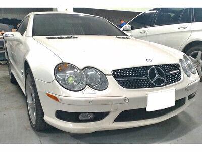 Mercedes R230 Sl Sport Gitter Grill Modelle Von 2002 Zu 2006 Schwarz AMG Optik