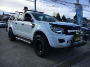 2012 Ford Ranger PX XL White Manual Utility Cabramatta Fairfield Area Preview
