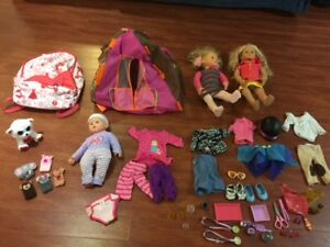 EUC Our Generation Dolls & Accessories & More