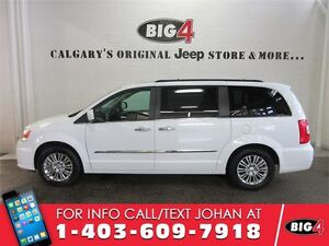 2016 Chrysler Town & Country Touring L, Leather, Sunroof, DVD 2x