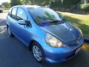 2006 Honda Jazz MY06 VTi Blue Metallic 5 Speed Manual Hatchback Chermside Brisbane North East Preview
