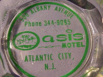 Vintage Oasis Motel Atlantic City New Jersey Ashtray