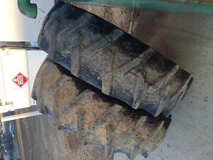 REAR TRACTOR TIRES  GOOD CONDITION