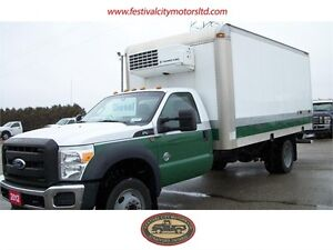 2012 Ford Super Duty F-450 DRW XL | 16' Cube Van | DIESEL