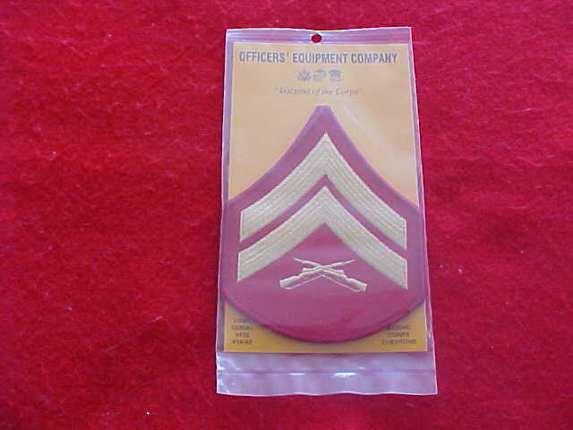 US Marine Corps - Corporal Chevrons E-4 for Male Dress Blues - NEW
