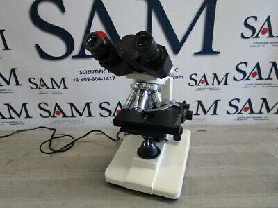 Binocular Biological Compound Microscope Sp4 Sp10 Sp40 Sp100 Magnification