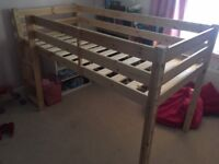 Mid sleeper bed £75